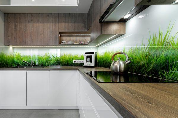 Küchenrückwand aus Glas – Eigenes Foto
