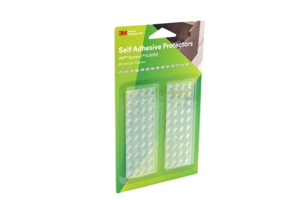 3M Bumpon SJ5302 transparent – 80 Stück