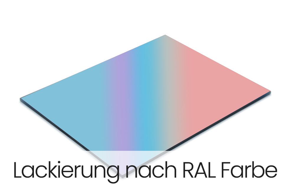Lackierung nach RAL Farbe
